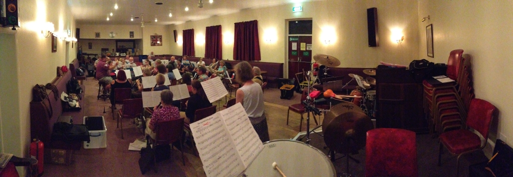 Derby Concert Band at The Royal British Legion, Allestree